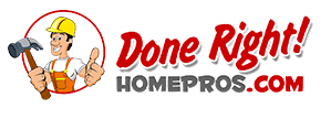 done right home pros logo